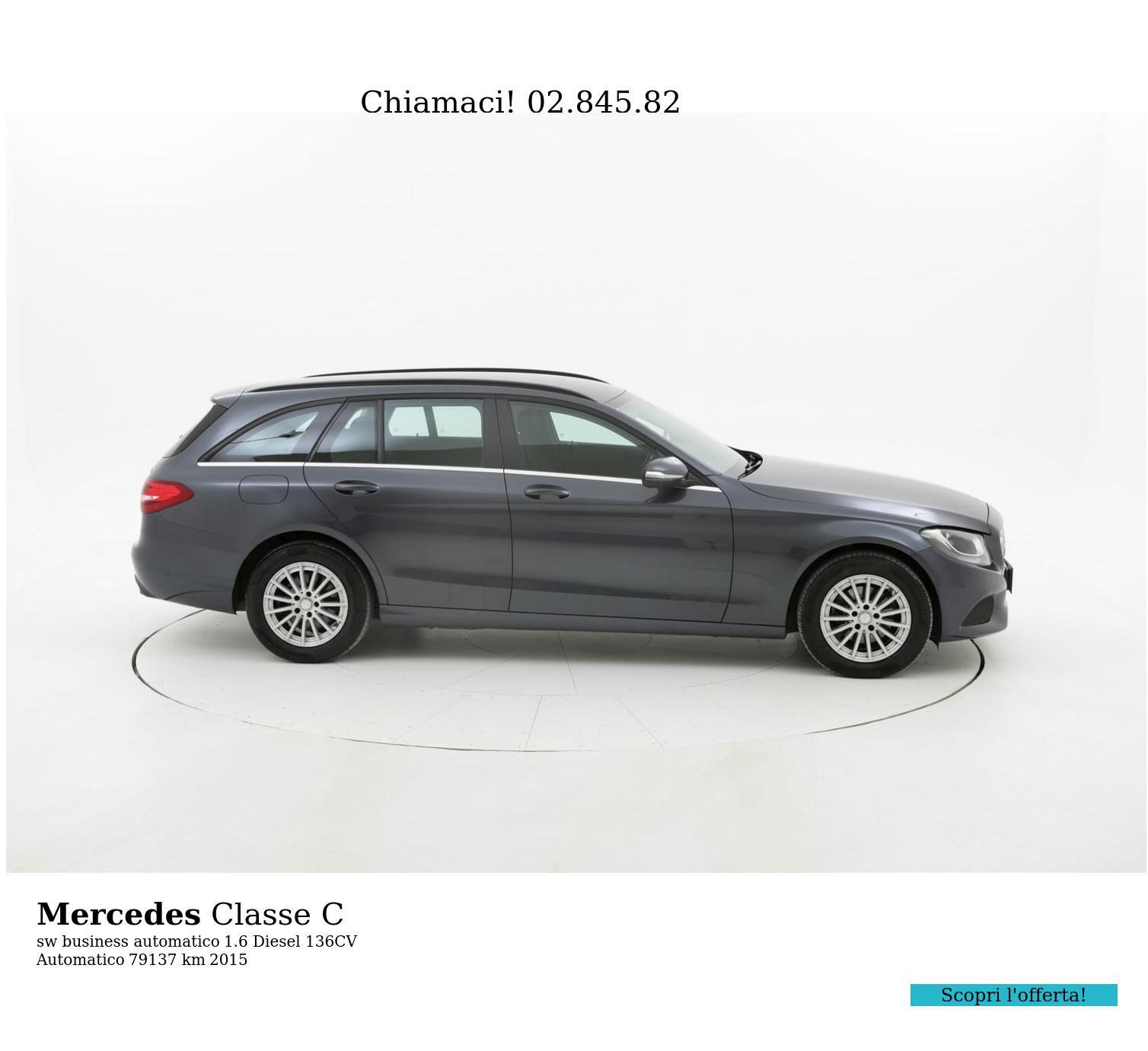 Mercedes Classe C usata del 2015 con 79.299 km | brumbrum