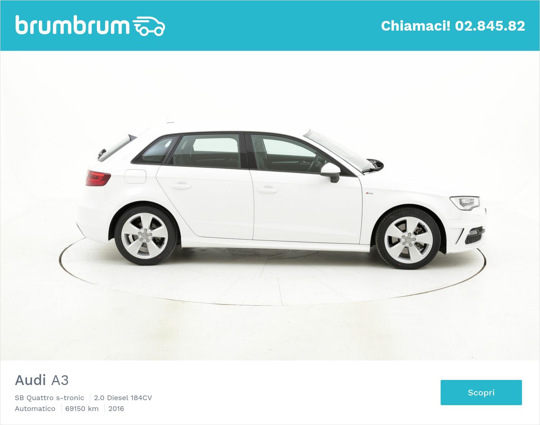 Audi A3 usata del 2016 con 69.543 km | brumbrum