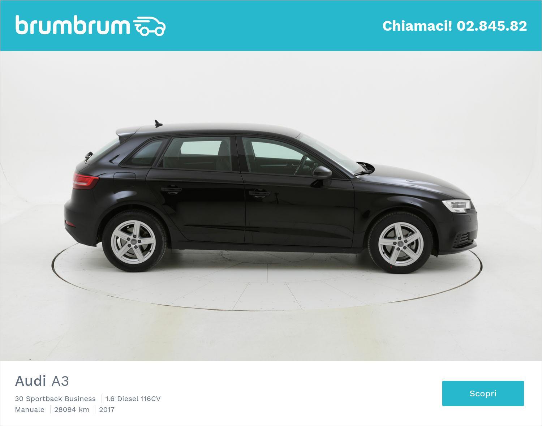 Audi A3 usata del 2017 con 28.142 km | brumbrum