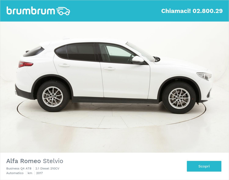 Alfa Romeo Stelvio Business Q4 AT8 usata del 2017 con 43.727 km | brumbrum