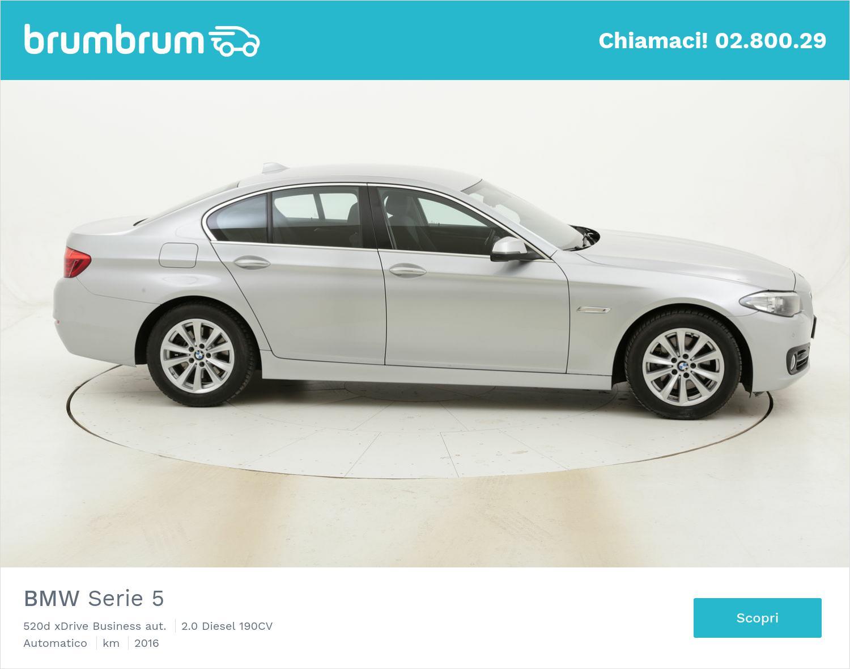 BMW Serie 5 520d xDrive Business aut. usata del 2016 con 109.589 km | brumbrum