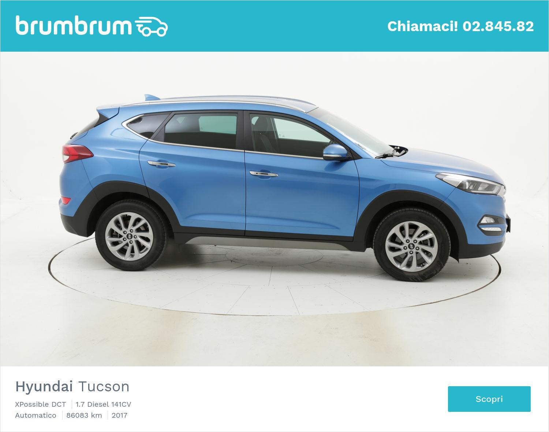 Hyundai Tucson usata del 2017 con 86.875 km | brumbrum