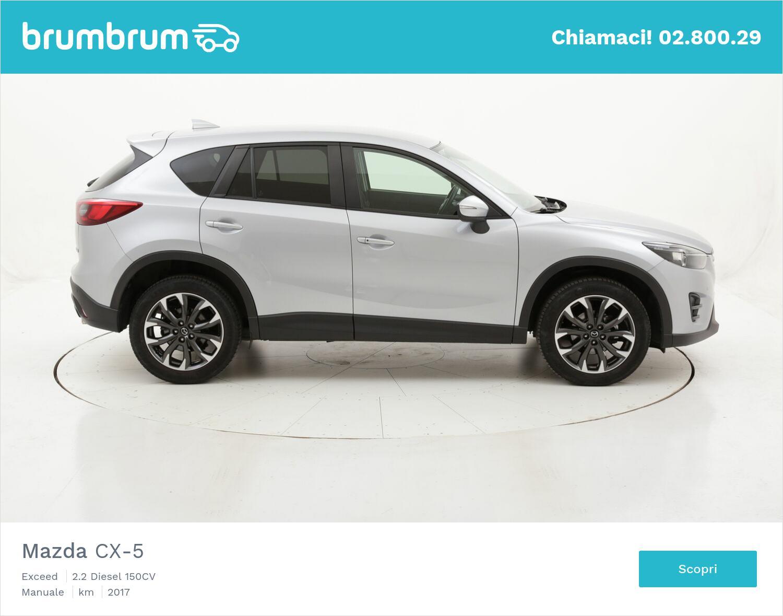 Mazda CX-5 Exceed usata del 2017 con 82.332 km | brumbrum