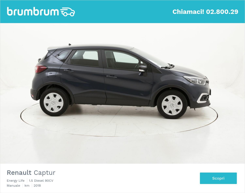 Renault Captur Energy Life usata del 2018 con 64.807 km | brumbrum