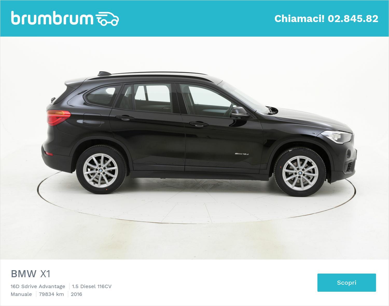 BMW X1 usata del 2016 con 80.549 km | brumbrum