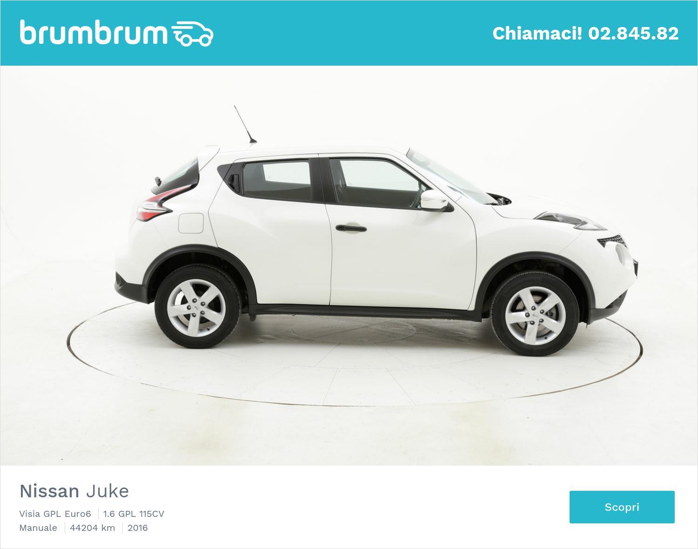 Nissan Juke usata del 2016 con 44.236 km | brumbrum
