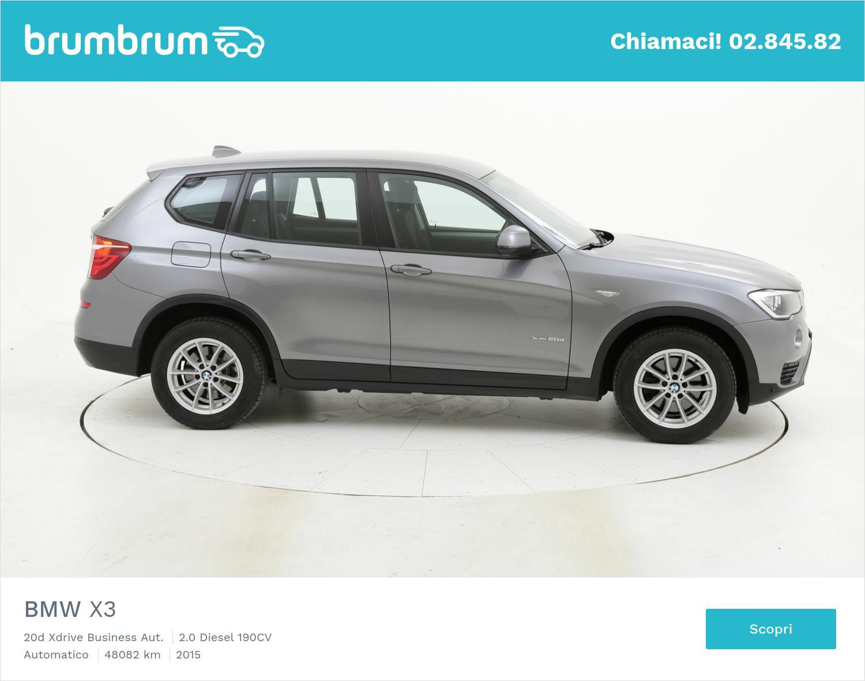 BMW X3 usata del 2015 con 48.427 km | brumbrum