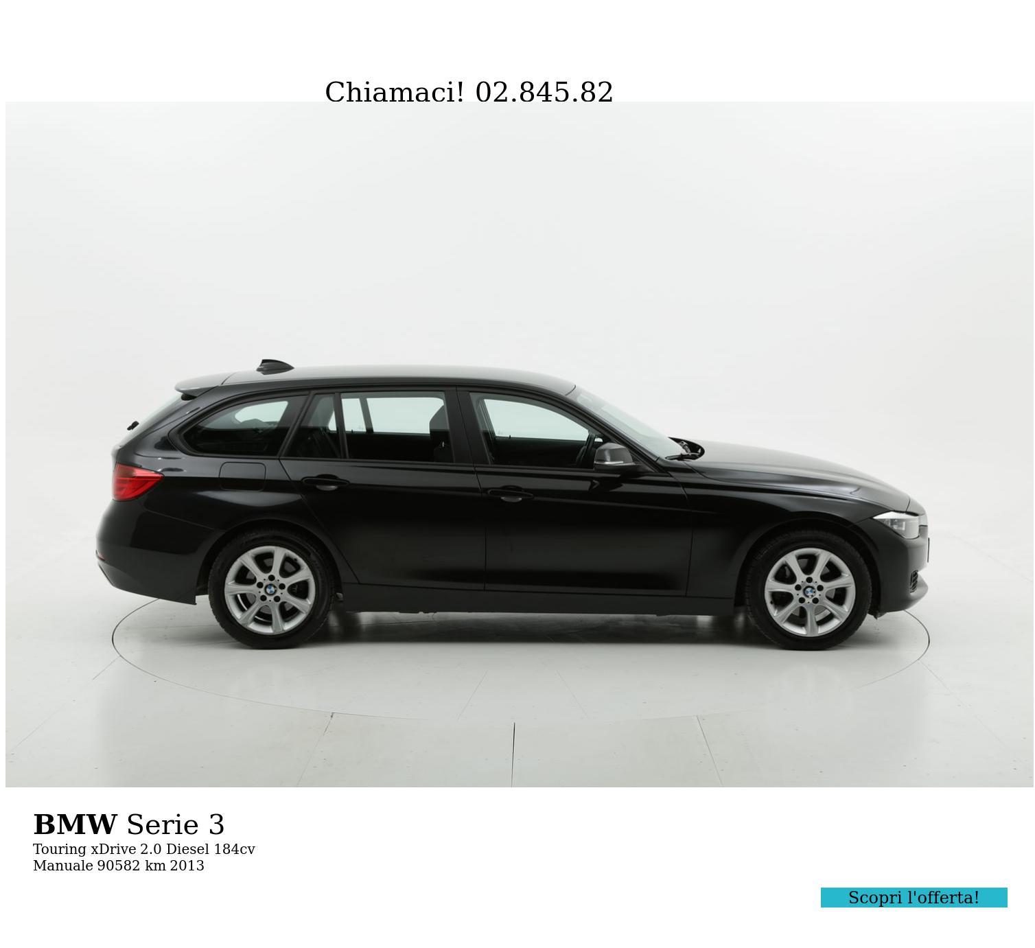 BMW Serie 3 usata del 2013 con 90.696 km | brumbrum
