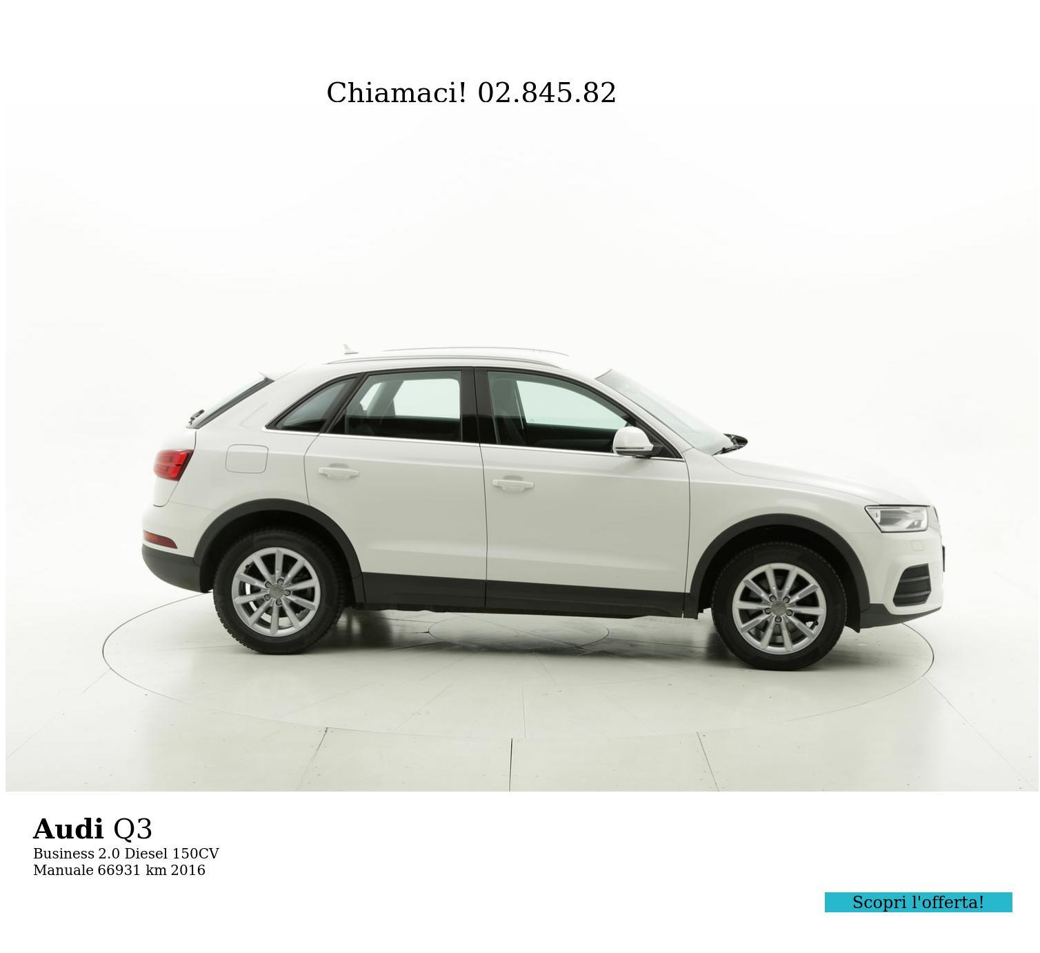 Audi Q3 usata del 2016 con 67.109 km | brumbrum