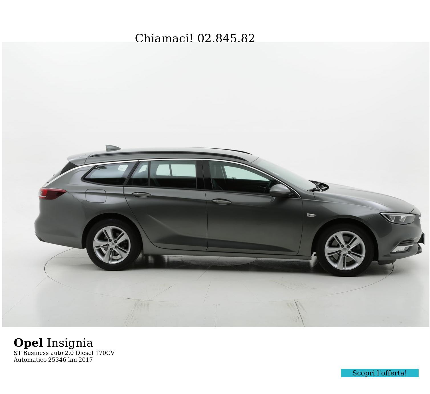 Opel Insignia usata del 2017 con 25.494 km   brumbrum
