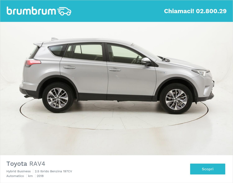 Toyota RAV4 Hybrid Business usata del 2018 con 46.929 km   brumbrum