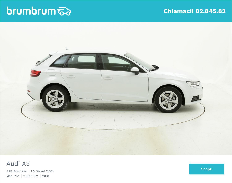 Audi A3 SPB Business usata del 2018 con 119.907 km | brumbrum
