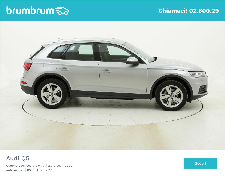 Audi Q5 usata del 2017 con 89.907 km | brumbrum