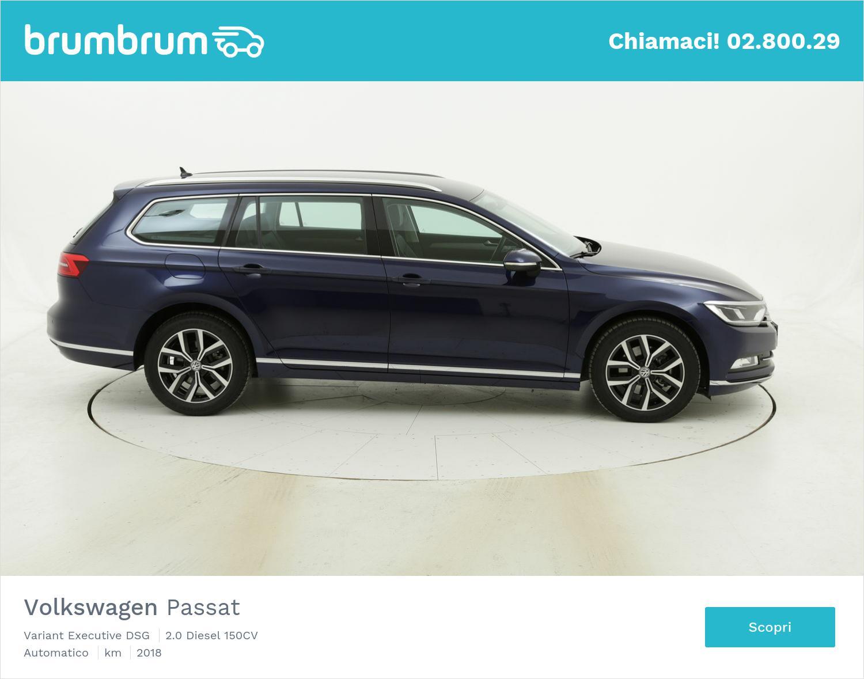 Volkswagen Passat Variant Executive DSG usata del 2018 con 73.430 km | brumbrum