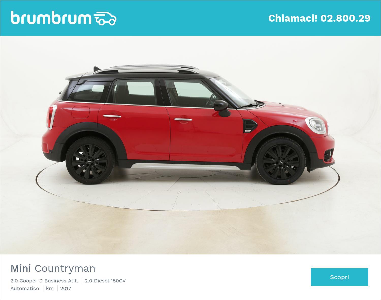 Mini Countryman 2.0 Cooper D Business Aut. usata del 2017 con 29.195 km   brumbrum