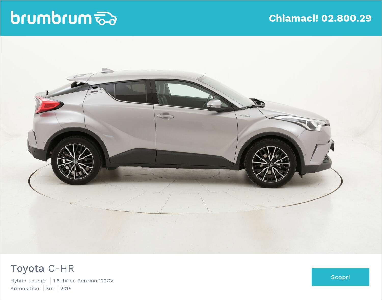 Toyota C-HR Hybrid Lounge usata del 2018 con 60.518 km   brumbrum