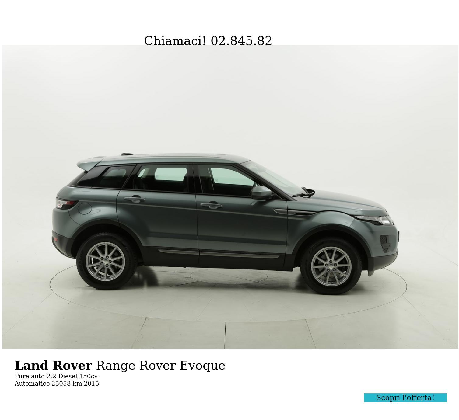 Land Rover Range Rover Evoque usata del 2015 con 25.139 km | brumbrum