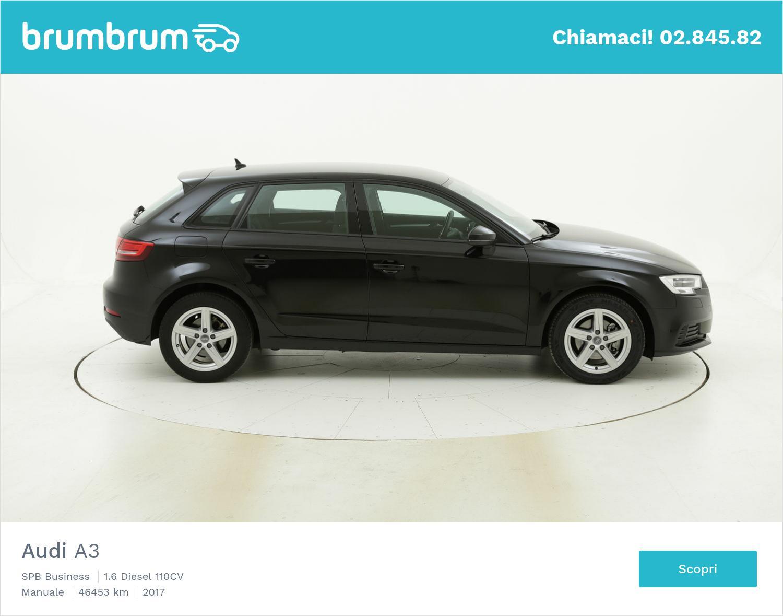 Audi A3 usata del 2017 con 46.526 km   brumbrum