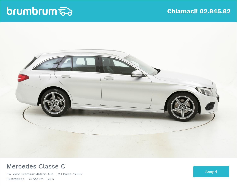 Mercedes Classe C usata del 2017 con 75.762 km | brumbrum