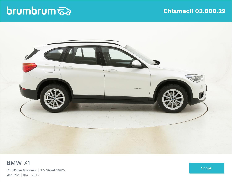 BMW X1 18d sDrive Business usata del 2018 con 94.675 km | brumbrum