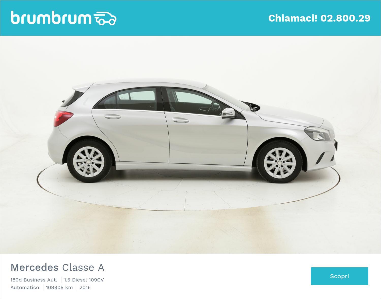 Mercedes Classe A 180d Business Aut. usata del 2016 con 110.744 km | brumbrum