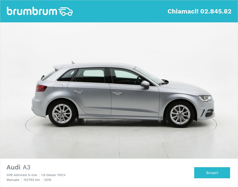 Audi A3 usata del 2016 con 123.226 km | brumbrum