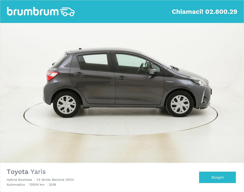 Toyota Yaris Hybrid Business usata del 2018 con 12.706 km | brumbrum