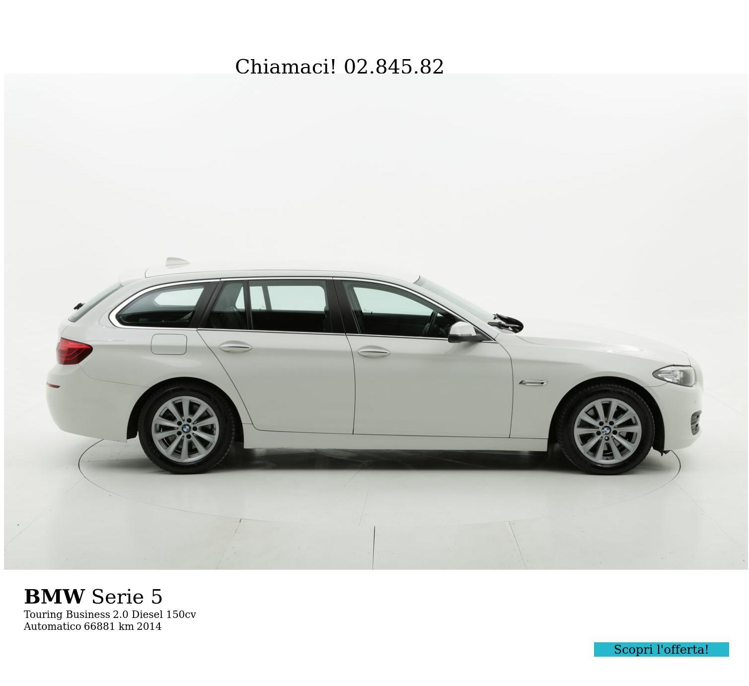 BMW Serie 5 usata del 2014 con 67.071 km | brumbrum