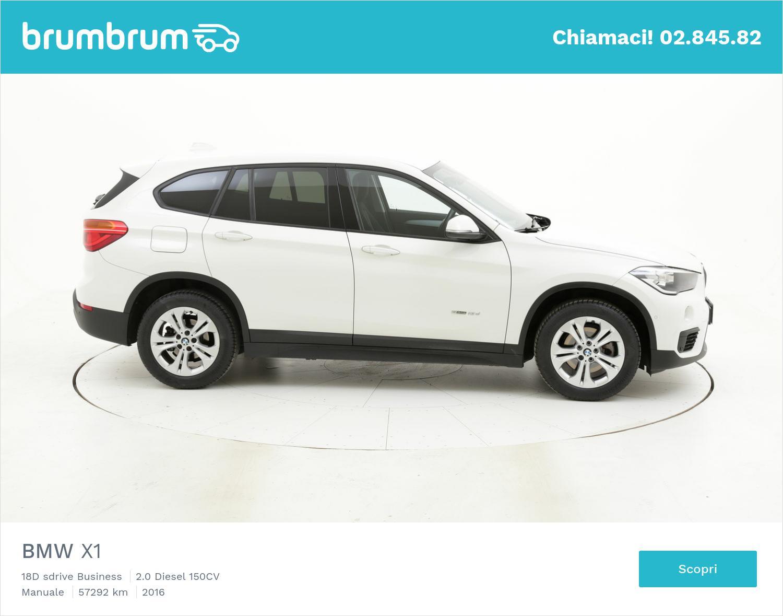 BMW X1 usata del 2016 con 57.343 km | brumbrum