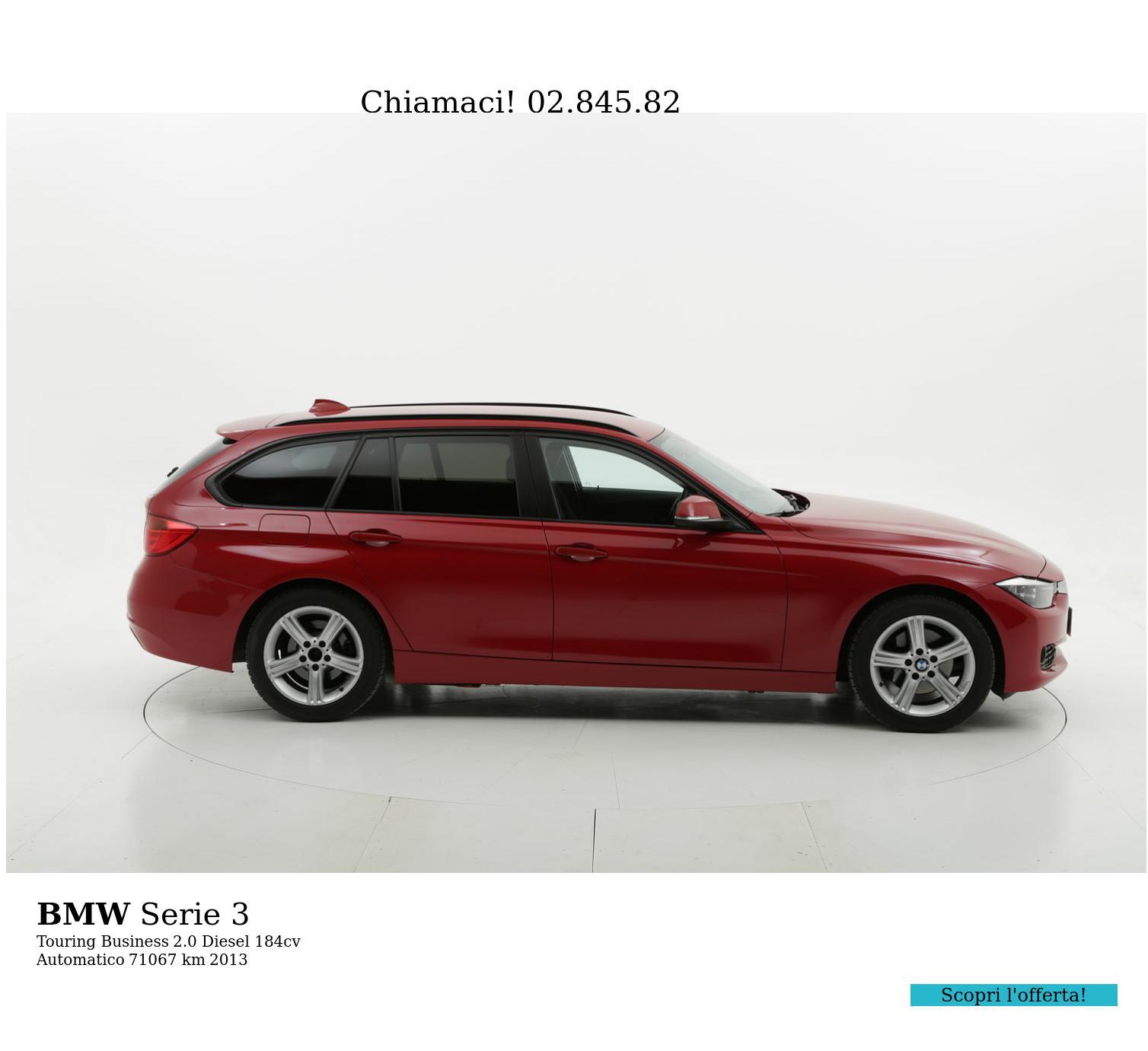 BMW Serie 3 usata del 2013 con 71.490 km | brumbrum