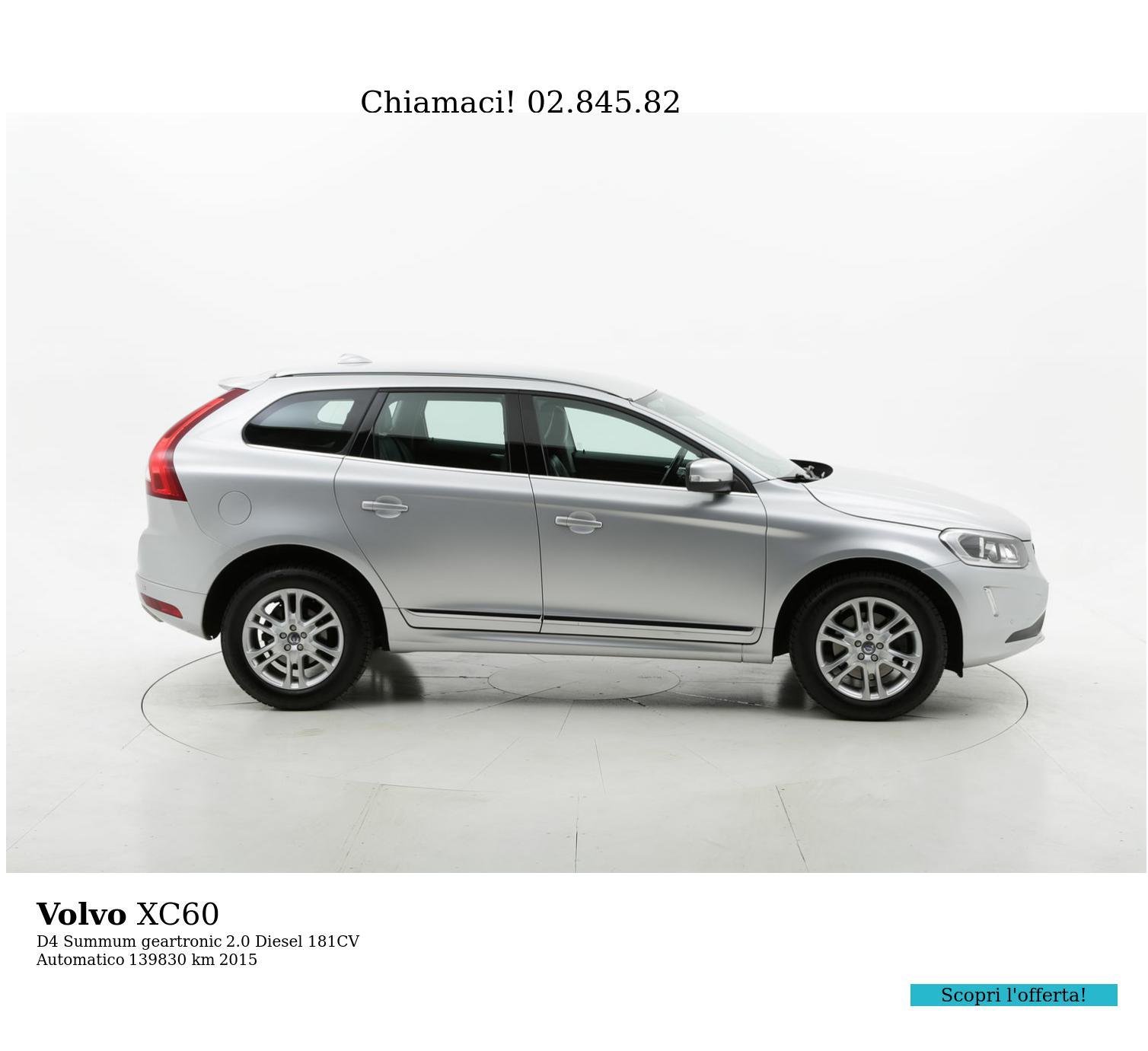 Volvo XC60 usata del 2015 con 140.182 km | brumbrum