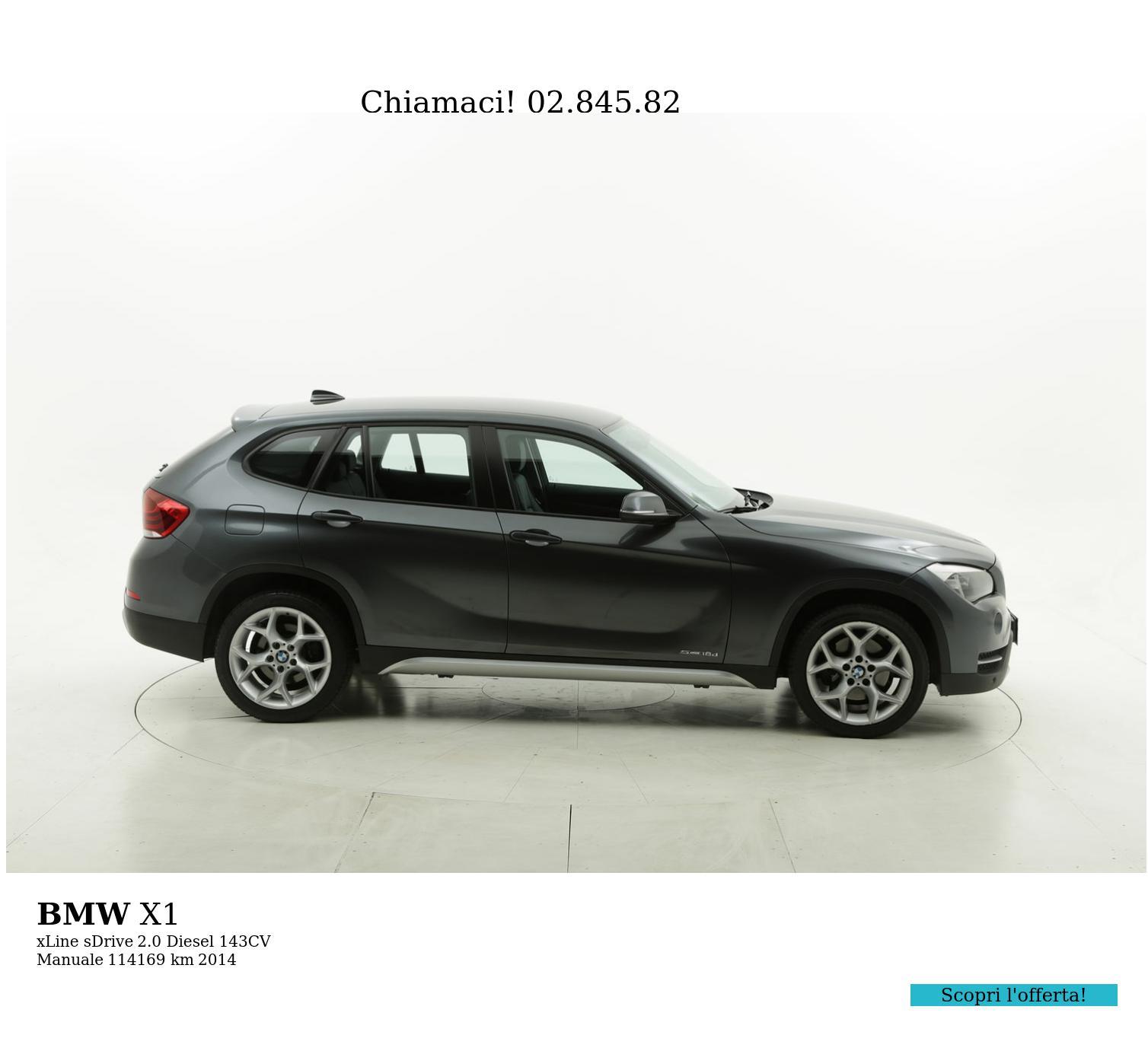 BMW X1 usata del 2014 con 114.437 km | brumbrum