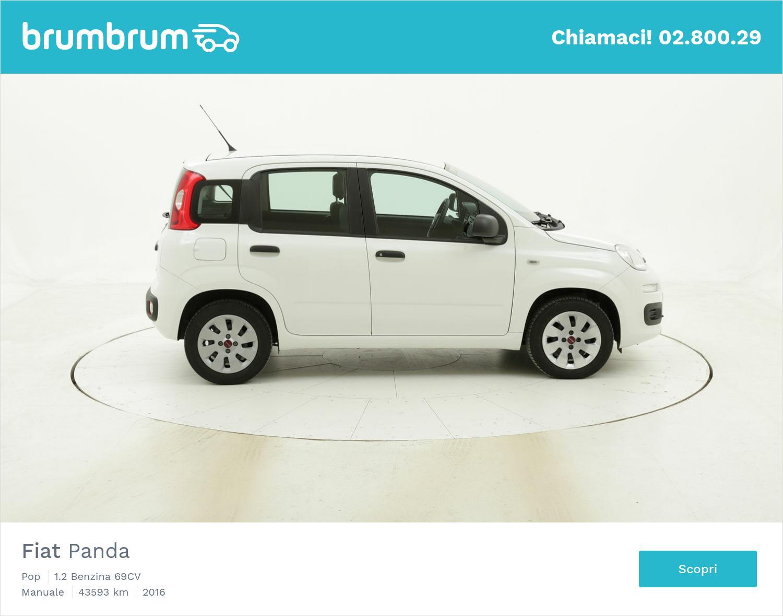 Fiat Panda Pop usata del 2016 con 43.611 km | brumbrum