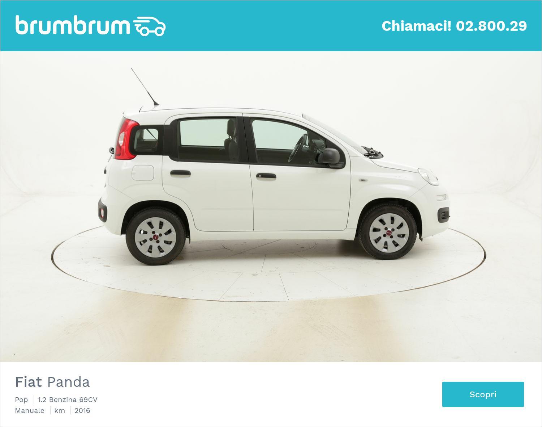 Fiat Panda Pop usata del 2016 con 42.102 km | brumbrum