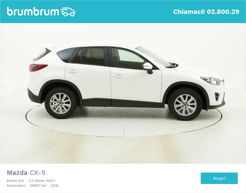 Mazda CX-5 Evolve Aut. usata del 2016 con 128.837 km | brumbrum