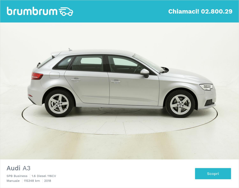 Audi A3 usata del 2018 con 115.354 km   brumbrum