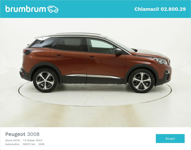 Peugeot 3008 Allure EAT8 usata del 2018 con 90.741 km | brumbrum