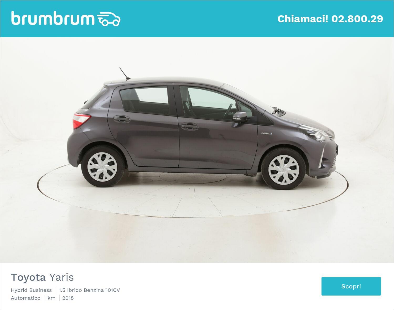 Toyota Yaris Hybrid Business usata del 2018 con 47.563 km | brumbrum