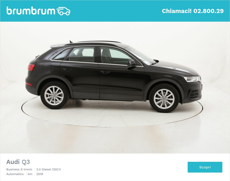 Audi Q3 Business S tronic usata del 2018 con 72.612 km   brumbrum