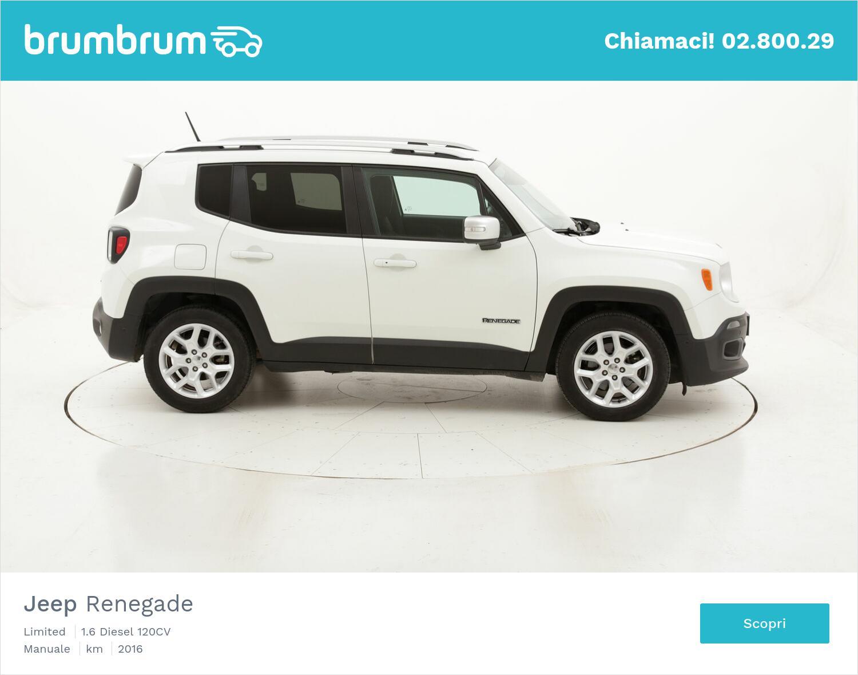 Jeep Renegade Limited usata del 2016 con 85.535 km | brumbrum