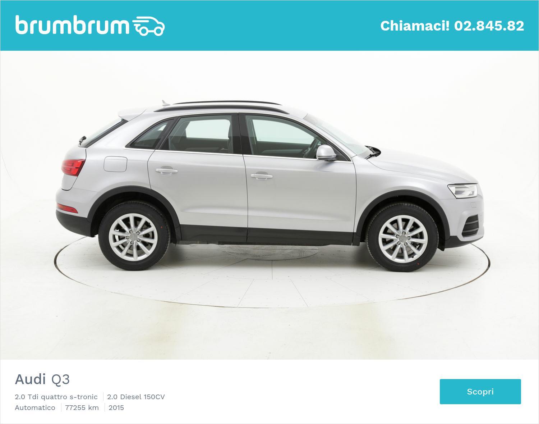 Audi Q3 usata del 2015 con 77.675 km | brumbrum