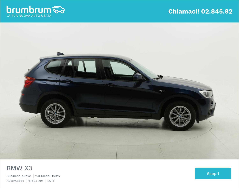 BMW X3 usata del 2015 con 62.112 km | brumbrum