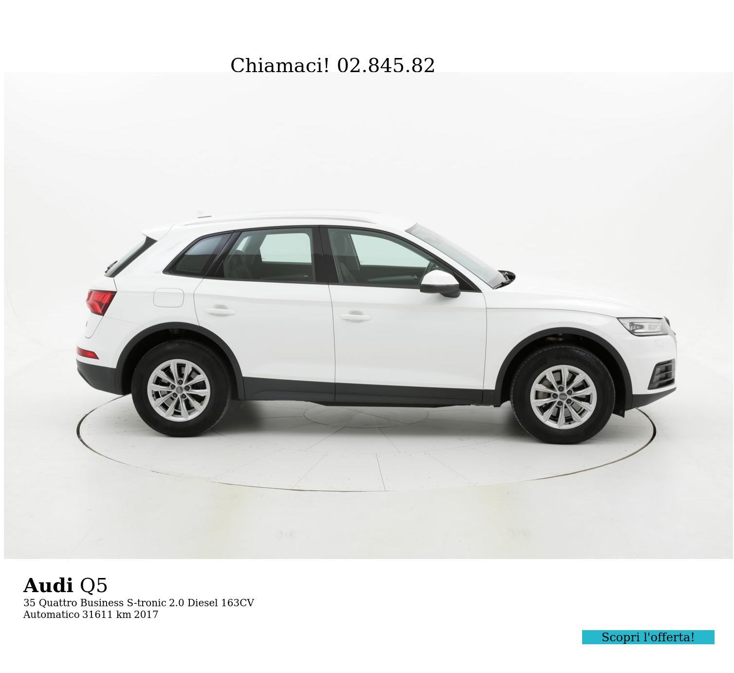 Audi Q5 usata del 2017 con 31.882 km | brumbrum