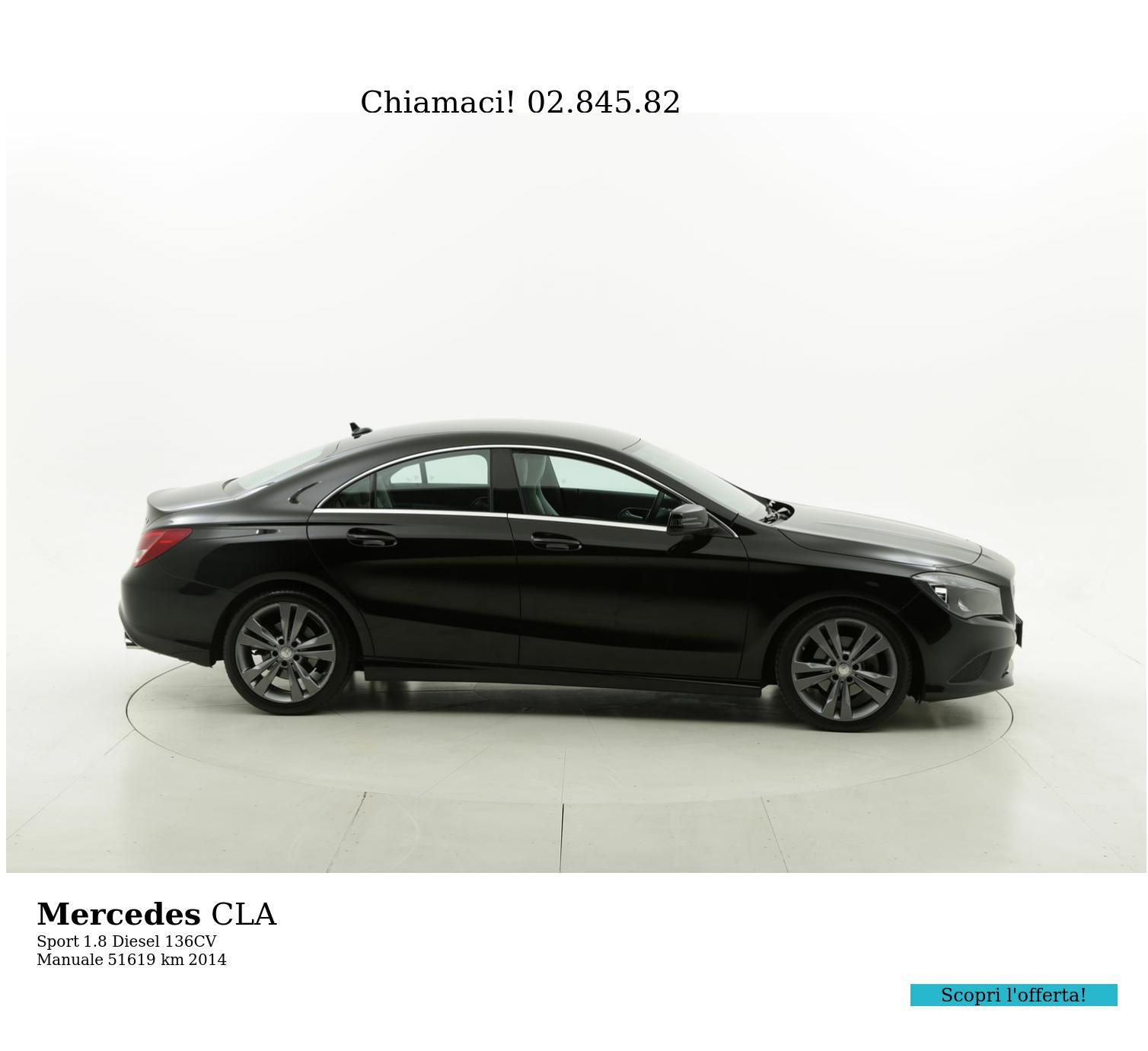 Mercedes CLA usata del 2014 con 51.713 km | brumbrum