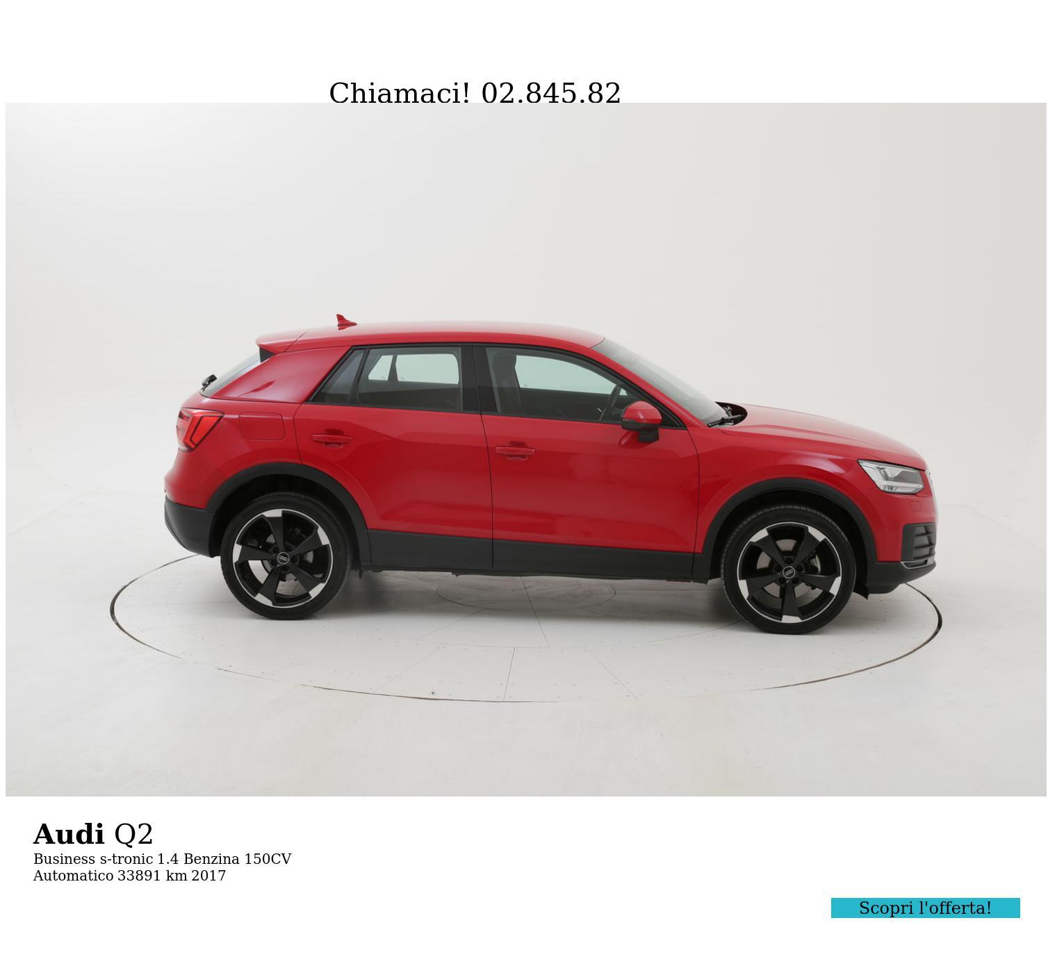 Audi Q2 usata del 2017 con 33.974 km   brumbrum