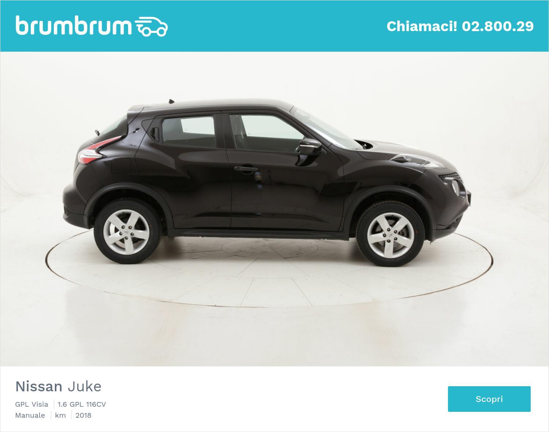 Nissan Juke GPL Visia usata del 2018 con 43.615 km | brumbrum