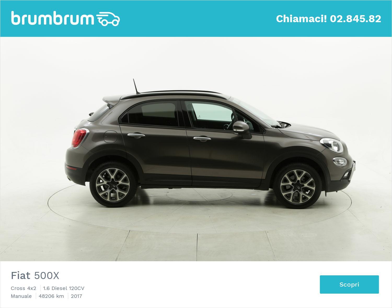 Fiat 500X usata del 2017 con 48.265 km | brumbrum