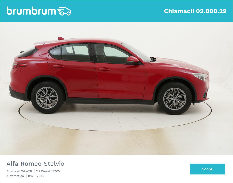 Alfa Romeo Stelvio Business Q4 AT8 usata del 2018 con 42.658 km | brumbrum