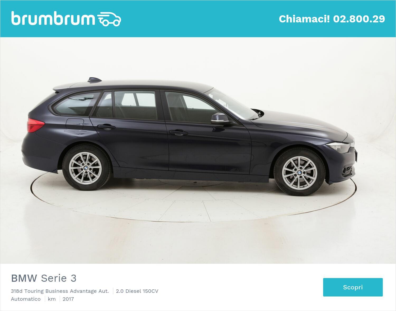 BMW Serie 3 318d Touring Business Advantage Aut. usata del 2017 con 117.201 km | brumbrum