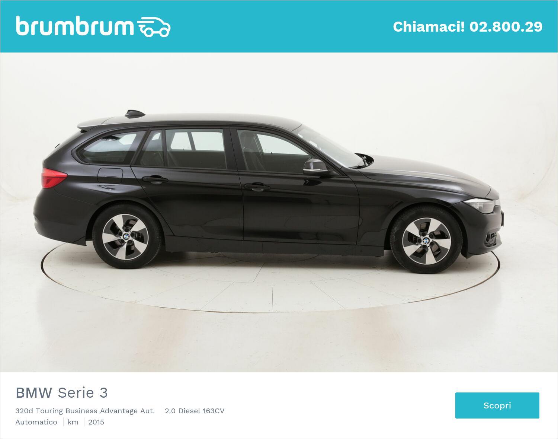 BMW Serie 3 320d Touring Business Advantage Aut. usata del 2015 con 77.140 km   brumbrum